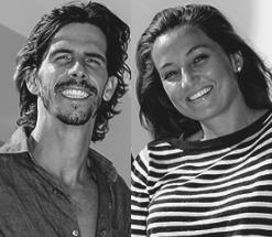 Renato Matiolli e Sarah Moreira