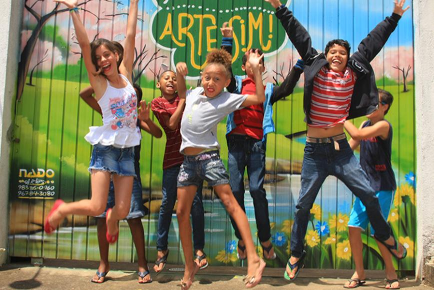 Projeto arte SIM - Atividades educacionais e culturais para crianças e jovens | astrini_bruna@hotmail.com