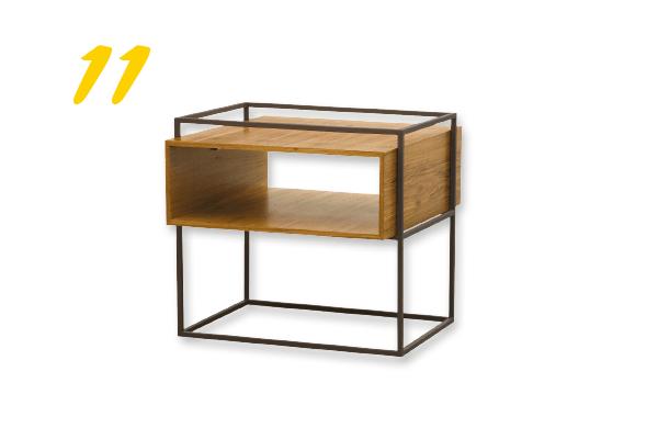 11. Mesa lateral 14 Bis (a partir de R$ 3.070) Design da Vila | designdavila.com.br