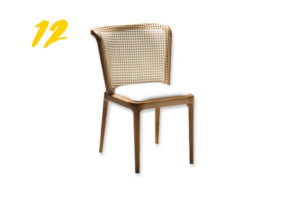 12. Cadeira Meivis (a partir de R$ 1.610) Design da Vila | designdavila.com.br