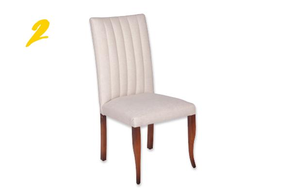 2. Cadeira jantar Verona com gomos (R$ 1.240) Sierra Alphaville | @sierraalphaville