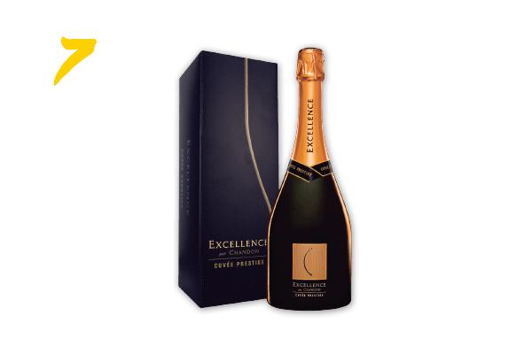 7. Champagne Chandon Excellence Cuvée Prestige 750 ml (R$ 112,37) | wine.com.br