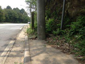 5 calçadas inexistentes em Alphaville
