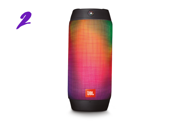 Caixa de som Pulse 2 da JBL (R$ 1.099)