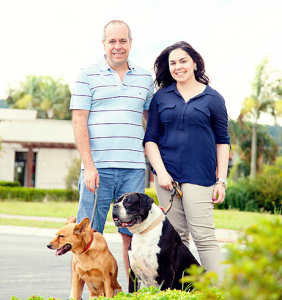 """""""Um dos motivos principais de ter vindo para o Itahyê foi poder pensar numa casa com um quintal grande para os cachorros"""", Eduardo Dias"""