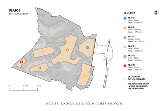67cda0b3d As edificações do platô 5 serão destinadas às atividades complementares   comercialização de flores