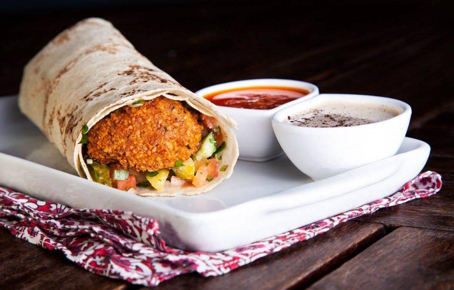 Kebab falafel do Pita