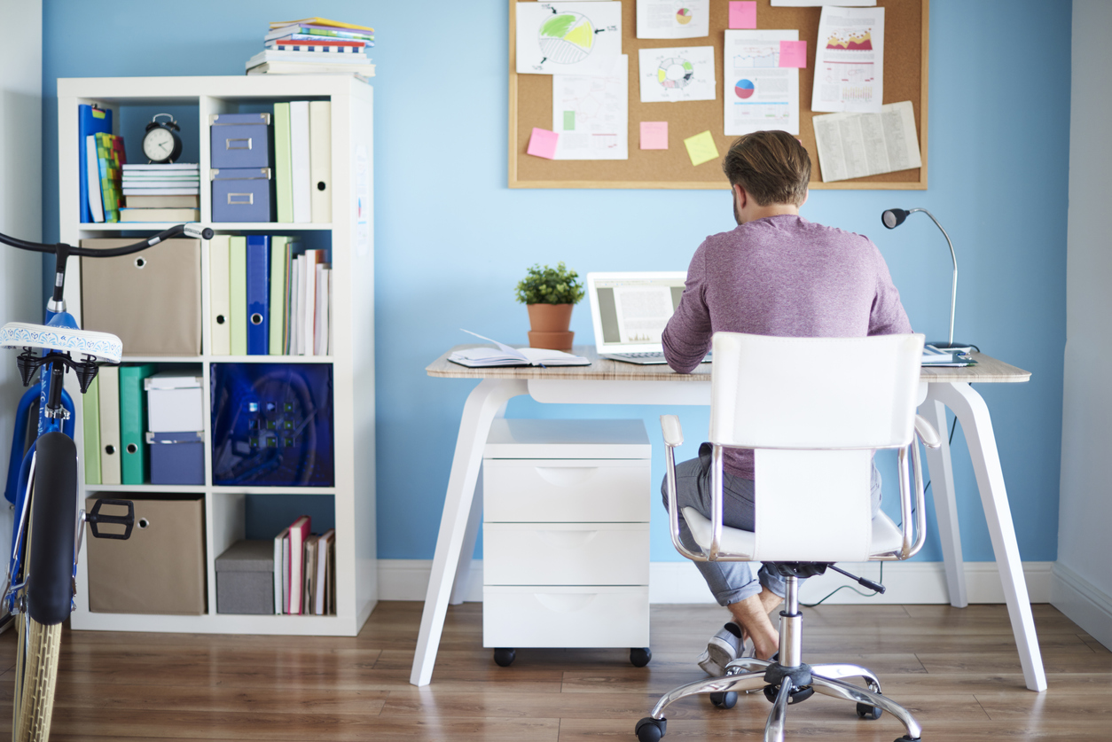6 dicas de como montar um escritório em casa